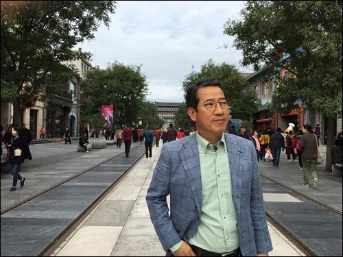 ▲연암 박지원이 들러간 베이징 치엔먼가.