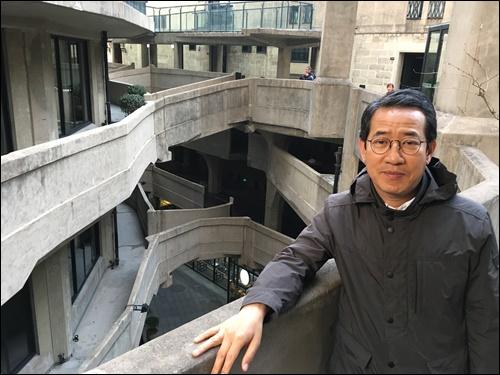 ▲라오창팡 내부 3층에서 본 미로의 구조