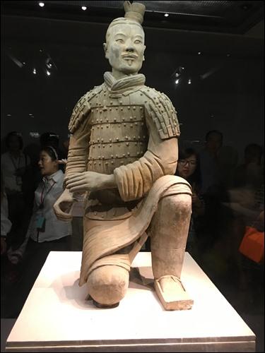 ▲ 중국 시안(西安) 병마용 박물관의 진관지보
