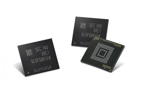 ▲ 삼성전자가 지난 5일 개발한 64단 V낸드 기반 512GB 메모리 반도체.