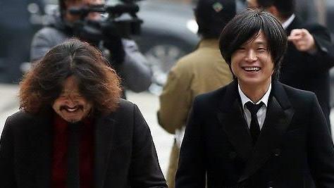 ▲ 언론인 김어준(왼쪽)과 주진우.