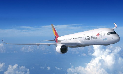 ▲ 아시아나항공이 잇단 사건사고로 홍역을 치르고 있다. 사진은 아시아나항공 A350-900 항공기.
