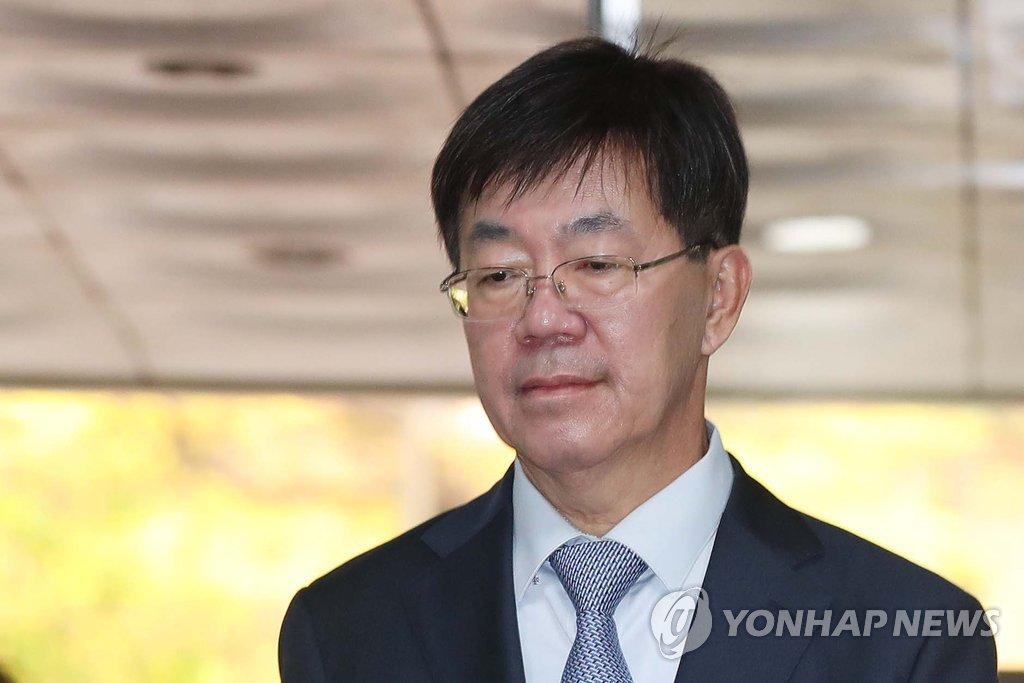 ▲ 2심 재판에 출석하는 이영렬 전 서울중앙지검장