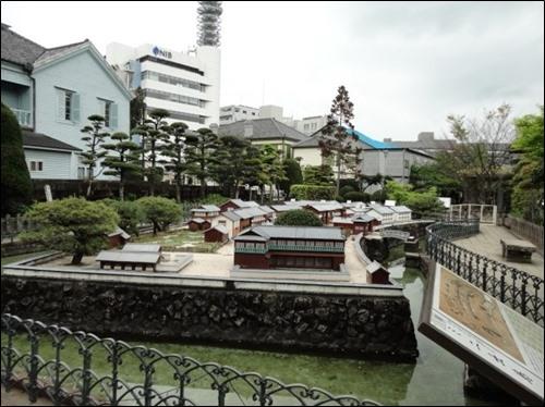 ▲ 일본 나가사키 데지마 인공섬의 모습