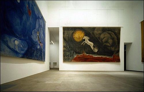 ▲ 샤갈의 '알레코' 연작 대형 걸개그림