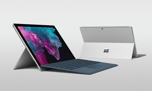 ▲ 15일 공식 출시를 앞두고 있는 '서피스 프로 6(Surface Pro 6)'