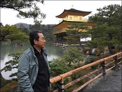 ▲ 일본 교토의 겨울 긴카쿠지 (금각사)
