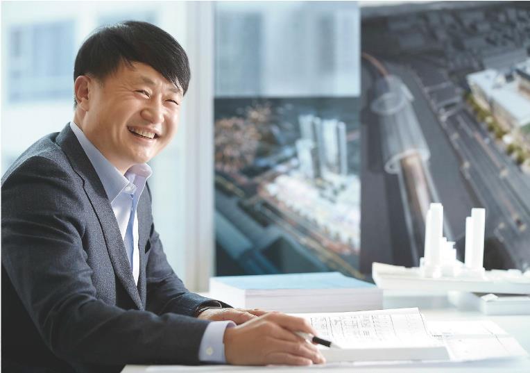 ▲ 이순재 정우건설산업 대표 / 출처 = 정우건설산업 홈페이지 캡처
