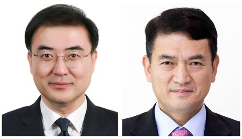 ▲ 손병두 금융위 부위원장(왼쪽), 김경욱 국토부 2차관