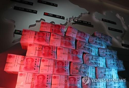 ▲ 미국 중국 지폐