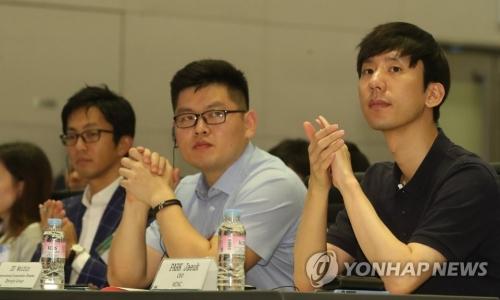 ▲ 한·중·일 기업가 포럼 참석한 VCNC 박재욱 대표