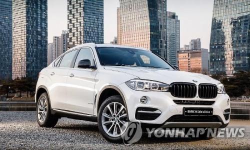▲ BMW X6 SAC 에디션 (사진=연합뉴스)