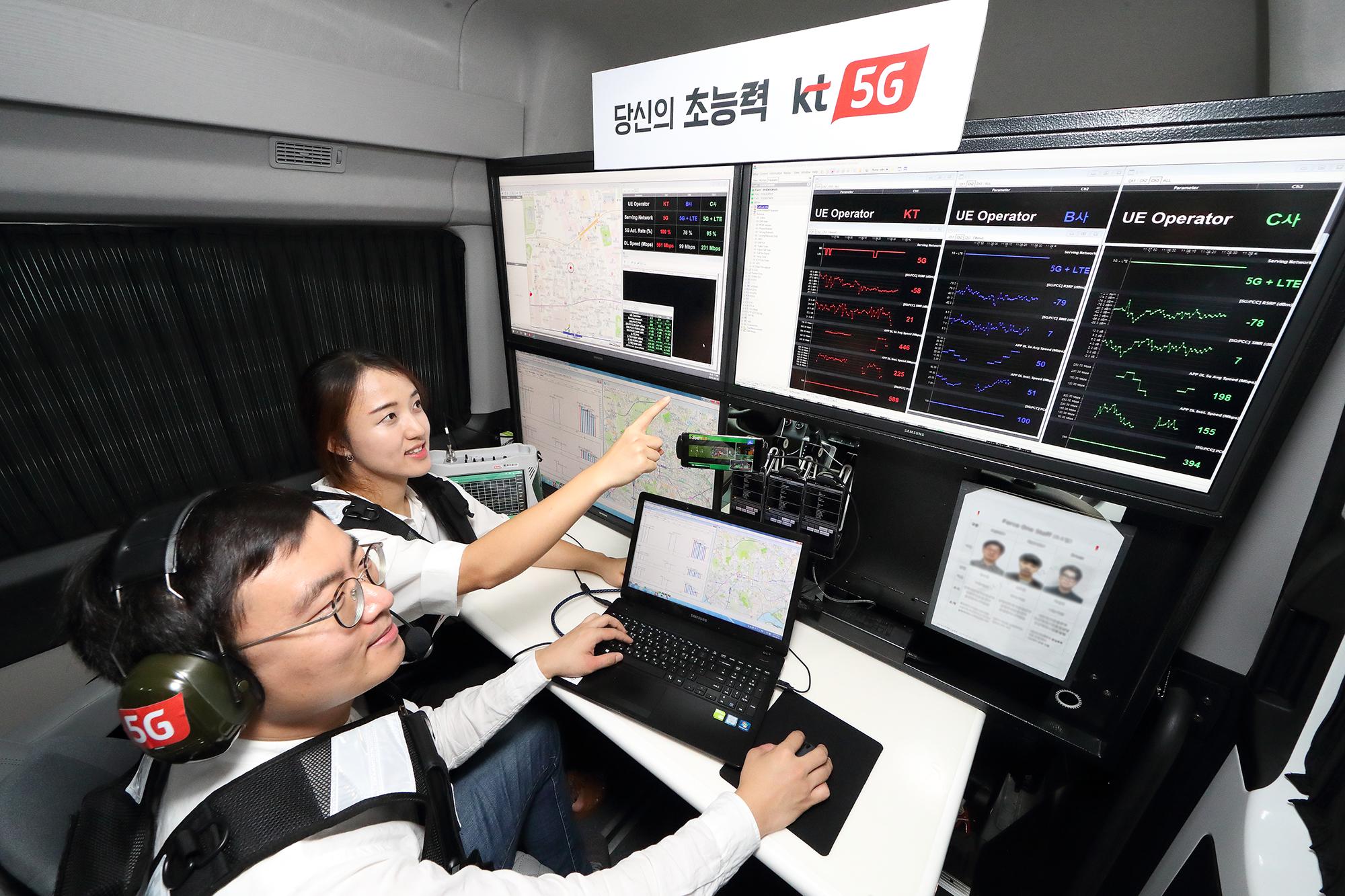 [KT사진자료4] KT 최첨단 품질측정 차량 1등 5G 서비스 만든다.jpg