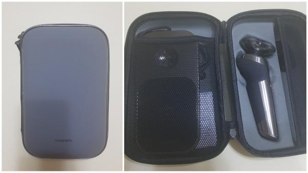 ▲ 플래그십 모델다운 알찬 구성품의 휴대용 파우치
