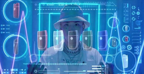 ▲ BAT코리아가 제작한 루피 X 나플라 'sense' 뮤직비디오의 한 장면.