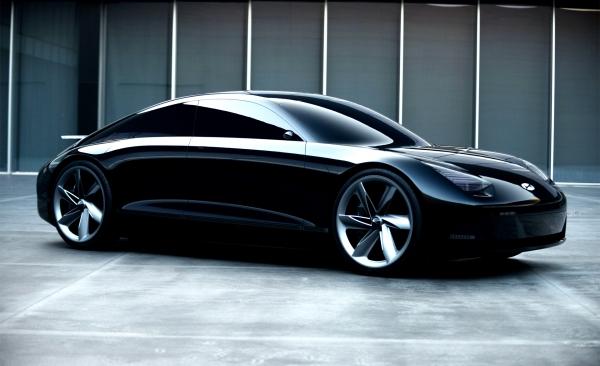 현대자동차가 선보인 EV컨셉트카 '프로페시'. 사진=현대자동차