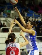 여자농구 우리은행 양지희, 6라운드 MVP