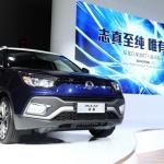 쌍용차, 상하이모터쇼서 '티볼리 에어 디젤' 공개…SUV 시장 공략