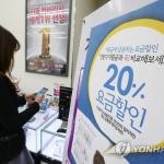 소비자 1천만명, 휴대전화 '20% 요금할인' 놓쳐