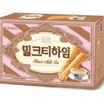"""""""차(茶) 열풍 잇는다""""…크라운제과 '밀크티하임' 출시"""