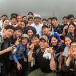 박삼구 회장, 신입사원들과 산행 '소통 경영' 앞장