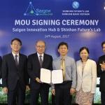 신한금융, 베트남 스타트업 지원기관과 MOU