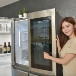 LG '노크온 매직스페이스' 탑재 디오스 냉장고 출시 '열지말고 확인하세요'
