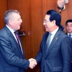 김영록 장관, 아일랜드 농식품해양부 장관에 EU 수출협력 요청