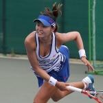 장수정, 하와이오픈 테니스 준결승행