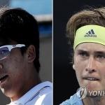 정현-즈베레프, 호주오픈 테니스대회 3회전 32강전