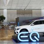 벤츠, 새 전기차 브랜드 'EQ' 인천공항에 전시