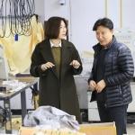 정수정 이랜드월드 대표, 서울지역 협력업체 방문