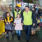 송종욱 광주은행장, 어린이들과 '장보기 행사'