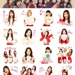 다날엔터, 대세 걸그룹 '트와이스' 카카오톡 이모티콘 출시