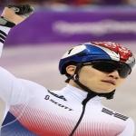 넘어진 서이라, 남자 쇼트트랙 1000m 동메달