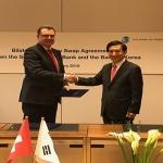 한국·스위스 100억달러 규모 통화스와프 계약 체결