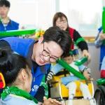 효성, 장애아동과 '함께하는 체육대회' 진행