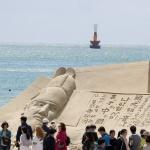 해운대 모래축제 개막…6개국 모래작가 참가