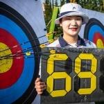 '한국 여자양궁의 힘' 월드컵 예선서 신기록 행진