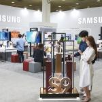 삼성·LG전자, 월드 IT쇼서 주요제품 체험공간 마련