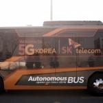 SK텔레콤, 자율주행버스 개발에 힘 싣는다