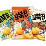 오리온 '꼬북칩' 누적 매출액 500억원 돌파