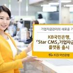 KB국민은행, 기업자금관리 플랫폼 'Star CMS' 출시
