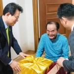 김광수 농협금융 회장, 6·25 국가유공자 위문 방문