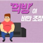 [카드뉴스] '먹방'이 비만 조장?