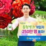 NH농협은행, '올원뱅크' 가입자 250만명 돌파