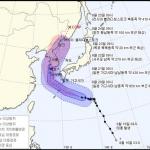태풍 '솔릭' 23일 한반도 관통…강한 비·바람에 큰 피해 우려