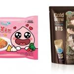 어피치 불닭, BTS 콜라…식음료 업계는 패키지 전쟁 중