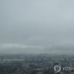 [내일날씨] 전국 구름 많아…제주·남부 오후부터 비소식