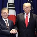 문재인·트럼프, 북한 비핵화 의지 재확인…2차 북미정상회담 조만간 개최